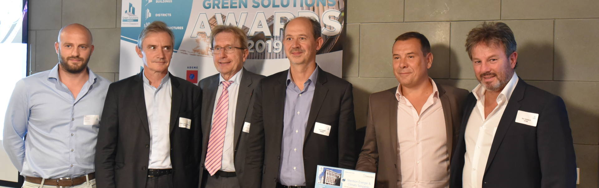 SPEBI primé aux Green Solutions Awards